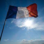Foto van de Franse vlag
