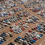 Foto van een parkeerterrein